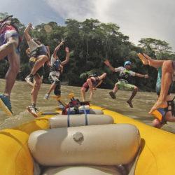 Rafting at Jatunyaku