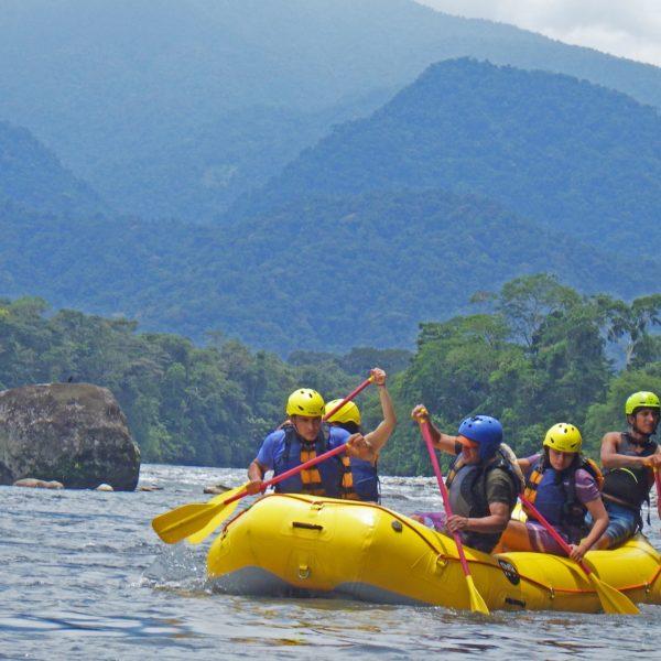 Rafting at Jatunaku